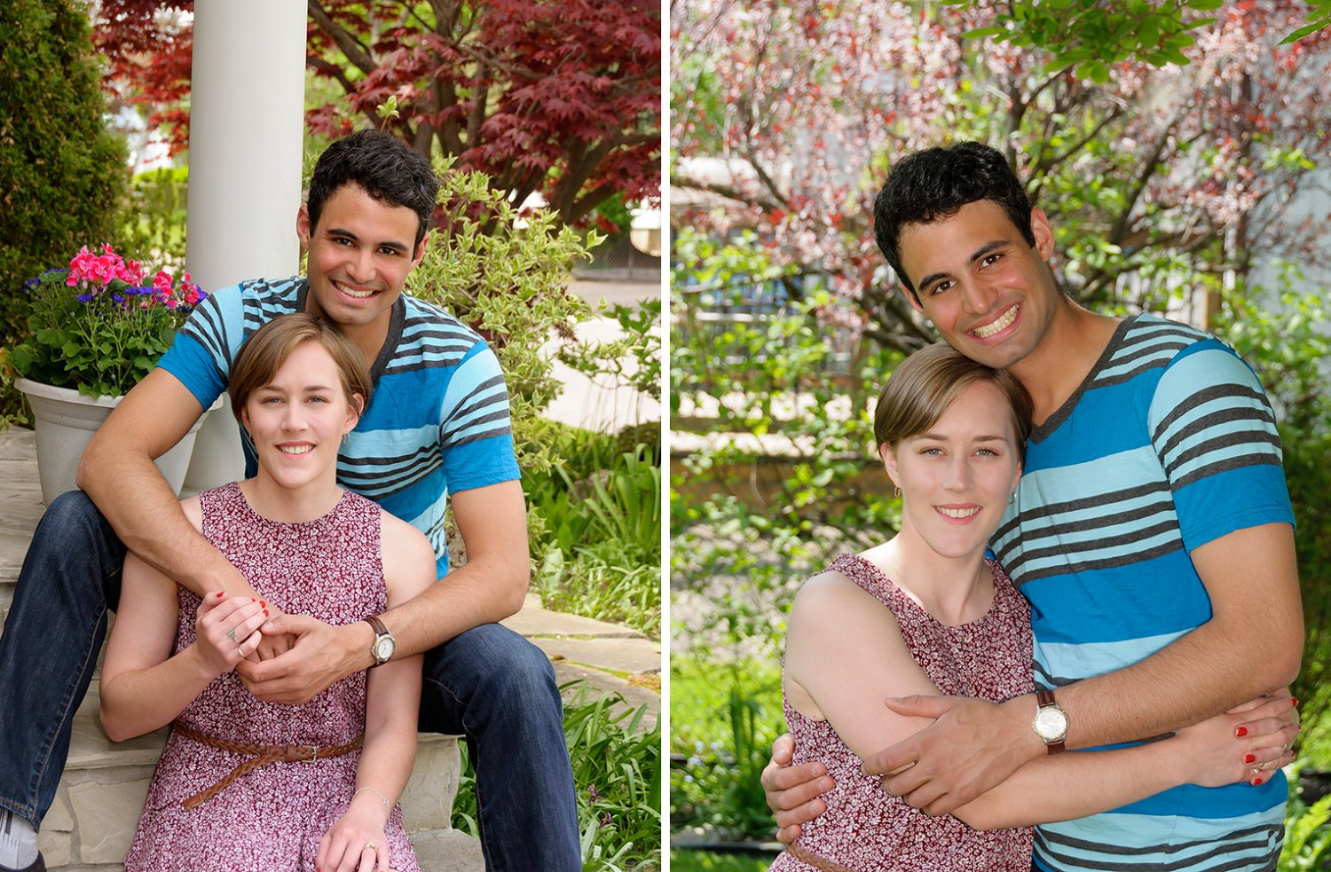 Spring & Summer Portraits in the Garden blog,